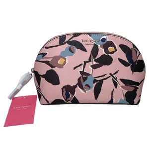 Kate Spade New York Leather Dome Cosmetic Case